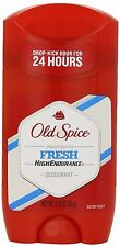 Old Spice Deodorant 2.25oz Fresh Solid (3 Pack), New