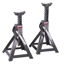 Craftsman Steel 2 1/4 ton Jack Stands Pair 2 pk Set Ratcheting Adjustable Auto