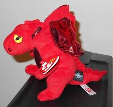 Ty Beanie Baby ~ FIRE the Red Dragon ~ Great Wolf Lodge Exclusive ~ NEW MWMT'S