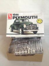 AMT 1941 Plymouth 1/25 scale kit # 6583 Early 80's Model Kit