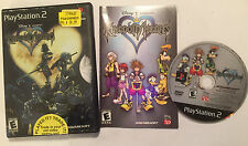 US SONY PLAYSTATION 2 PS2 GAME DISNEY KINGDOM HEARTS 1 / I COMPLETE NTSC -U/C