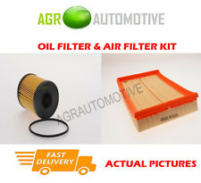 DIESEL SERVICE KIT OIL AIR FILTER FOR VAUXHALL COMBO 1.3 69 BHP 2003-12