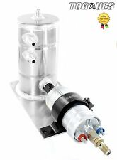 Bosch 044 Fuel Pump and Swirl Pot Tank Assembly In Black