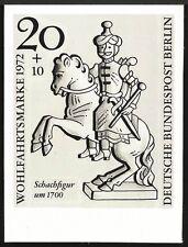 BERLIN FOTO-ESSAY 435/438 SCHACH 1972 CHESS AJEDREZ SZACHY PROOF RARE! a353