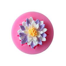 Kuchenform Lotus Blumen Motivbackform Silikonbackform Silikon Backform Eisform