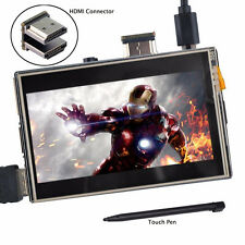 "3.5"" Raspberry Pi LCD HDMI USB Touch Screen Display Audio for Pi 2 Pi 3 Model B"