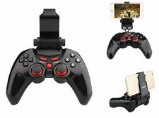 Wireless Bluetooth Game Controller Cell Phone Holder for PC iPhone 6 Plus 5S