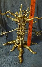 Metal art sculpture Tree with Face steam punk recycled wizard of oz poltergeist