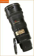 Nikon AF-S 70-200mm F2.8G VR Nikkor ED AF Zoom Lens Free UK Postage