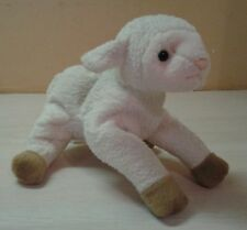 "1999 Ty Ewey Lamb Sheep Plush 7"" stuffed animal"