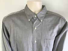 NWOT RALPH LAUREN NON IRON MENS LONG SLEEVED OXFORD SHIRT XL 16 32/33 $85
