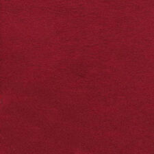 """Red Micro Suede Upholstery and Drapery Fabric 60"""" Wide (Sold By The Yard)"""