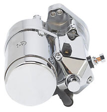 Ultima 2.4kw Side Post Chrome Thunderfire Heavy Duty Starter for 89-06 Harley BT