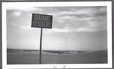 VINTAGE 1960 OCEANA MICHIGAN FLORADALE RESORT MAC WOOD'S DUNE SCOOTER OLD PHOTO