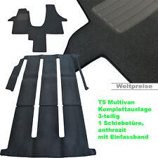 AKTION Velour Fußmatten Komplettauslage für VW T5 Multivan 1 ab Bj.2003 - 2015