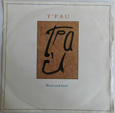 """T'Pau - Heart And Soul / On The Wing 1980s Pop Classic 7"""" Vinyl Record 45RPM"""