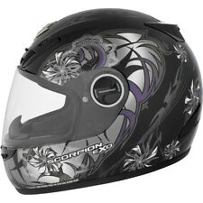 Scorpion EXO-400 Full Face Street Helmet Spectral Black Chameleon Large LG