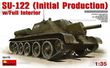 1/35 Soviet SU-122 Initial Productionwith full interior model kit by Mini Art