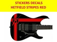 HETFIELD STRIPES METALLICA RED STICKERS VISIT OUR STORE WITH MANY MORE MODELS
