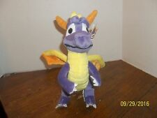 """2001 PLAY BY PLAY PLAYSTATION SPYRO PURPLE DRAGON PLUSH WITH TAGS 11"""" TALL"""