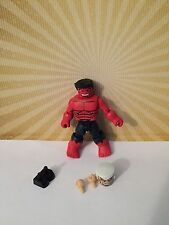 Marvel Minimates Thunderbolts Now! Red Hulk Ross Rulk Cheap Worldwide Shipping