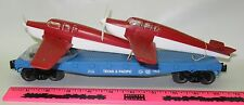 """Lionel New 6-17516 T&P Flatcar """"9823"""" with Two Beechcra"""