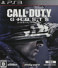 SONY PLAYSTATION 3 PS3 Video Game Call of Duty Ghosts MultiPlayer Map Included