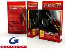 Vauxhall Corsa B 93-00 all models Goodridge stainless braided brake hoses