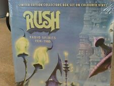 Rush Limited Edition Collectors Box Set on coloured Vinyl  4LP neu & OVP
