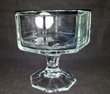 Indiana Glass Compote Large Dessert Sundae Candy Dish Bowl Centerpiece Wedding