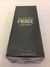 NEW & SEALED ABERCROMBIE & FITCH A&F FIERCE COLOGNE 1.7 oz. 50ml GENUINE!