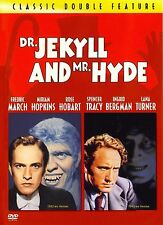 Dr Jekyll and Mr Hyde (1931) & (1941), (2 Films), Region 2, Classic Horror, DVD