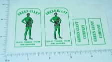Tonka Green Giant Stake Delivery Truck Stickers  TK-014