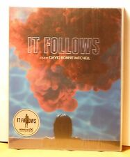 NEW IT FOLLOWS BLU-RAY LENTICULAR STEELBOOK! KIMCHI TYPE B LIMITED 1300! IN HAND