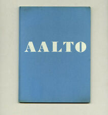 1938 Museum of Modern Art ALVAR AALTO: ARCHITECTURE + FURNITURE Design HC Book