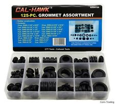 125-PC Rubber Grommet Assortment Auto Truck Boat Firewall Holes Electric Wires