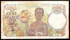 French West Africa 100 Francs 1947 P-40