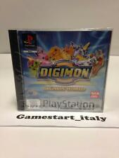 DIGIMON WORLD DIGITAL MONSTERS (SONY PS1) NUOVO SIGILLATO NEW SEALED PAL VERSION
