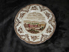 Johnson Bros. Old Britain Castles Salad Plate Multi-Colored Chatsworth 1792