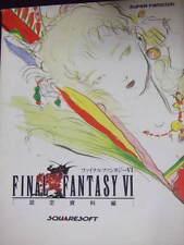 Final Fantasy 6 Art book Yoshitaka Amano illust FF 6 SNES