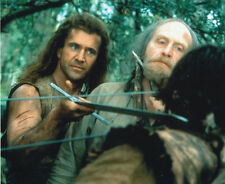 JAMES COSMO & MEL GIBSON UNSIGNED PHOTO - 4631 - BRAVEHEART