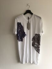 SIZE M SILENT DAMIR DOMA TUBAN P PRINTED MINERALS TEE OPTIC 100% AUTH RRP £175