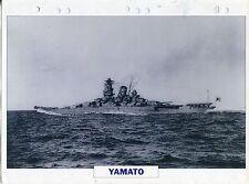 PHOTO BATEAU MILITAIRE 1940 JAPON  YAMATO NAVIRE DE LIGNE SUPER CUIRASSE