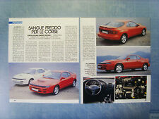 AUTO992-RITAGLIO/CLIPPING/NEWS-1992-TOYOTA CELICA LIMITED EDITION - 2 fogli