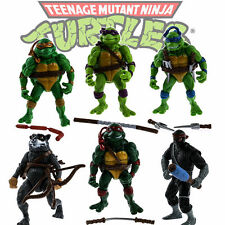 6 un. Teenage Mutant Ninja Turtles Action Figures Colección Clásica Juguete Conjunto de Regalo
