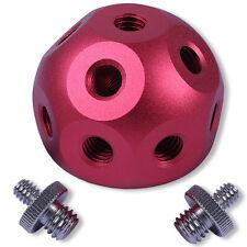 "Magic Ball +2 1/4-3/8"" Adapter Schraube für Blitzstativ Blitzhalter Kameraneiger"