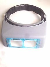 New Professional Optical Glass optivisor, 2.5x Magnification Head Jewelers Loupe