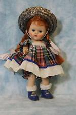 Early Vogue Painted Lash Ginny Doll Red Hair Blue Eyes Strung Painted Lash 1954