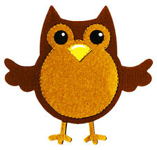 Sizzix Bigz Owl #2 die A10947 Retail $19.99 SO CUTE!!