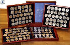Completamente recopilación de todos los 123 RDA conmemorativas monedas de 5 marcos, 10 marcos y 20 marcos